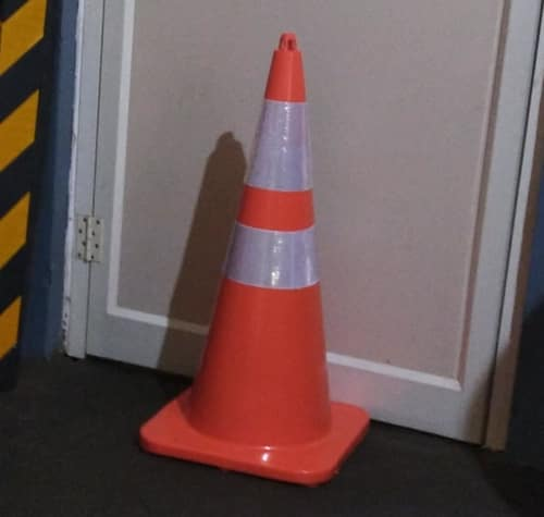 UV Resistant Flexible Safety Cone