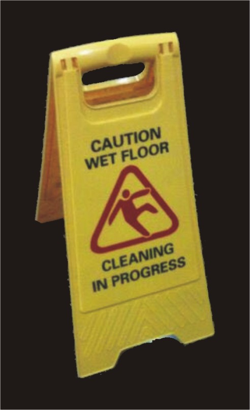 Floor Caution board