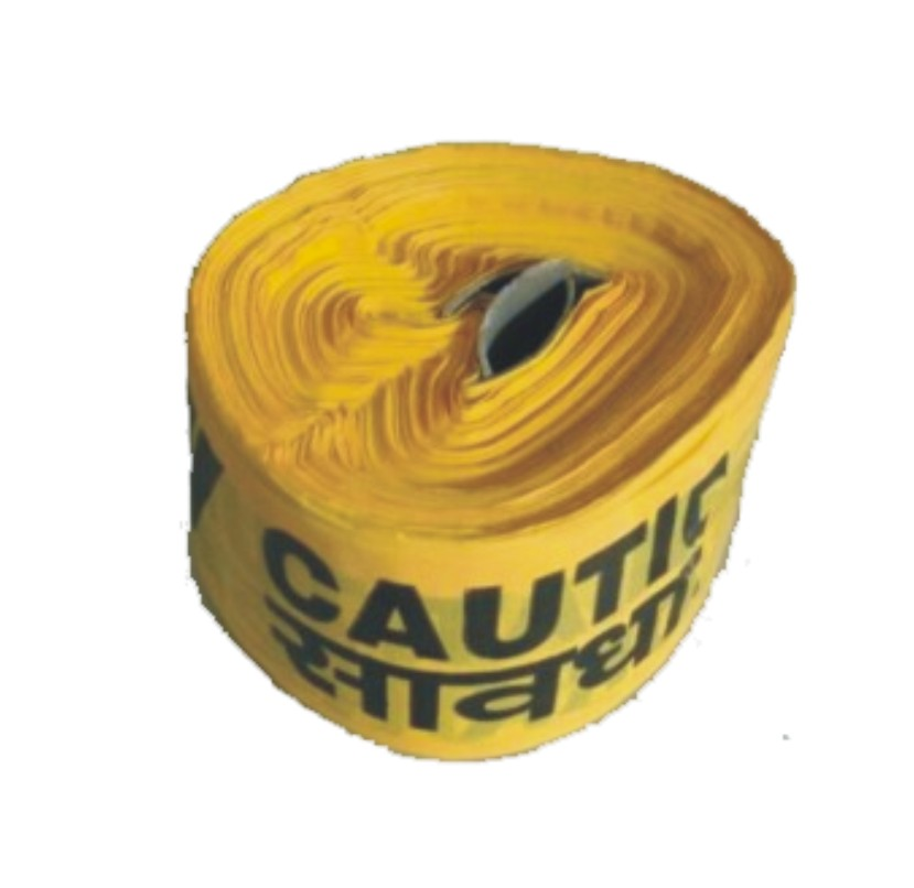 Traffic Caution Tape Yellow