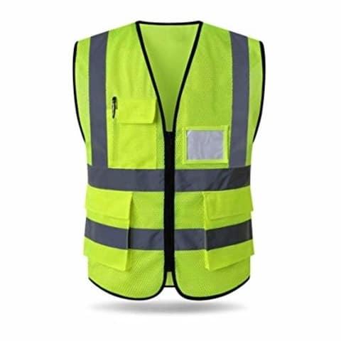 Reflective Vest With Pockets