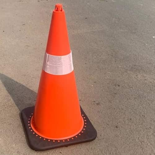 Flexible Traffic Cone