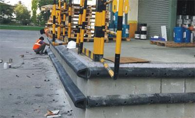 D6 Rubber Dock Bumper