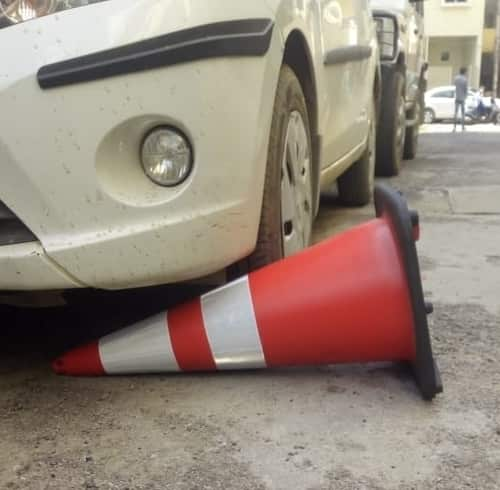 Unbreakable Safety Cone